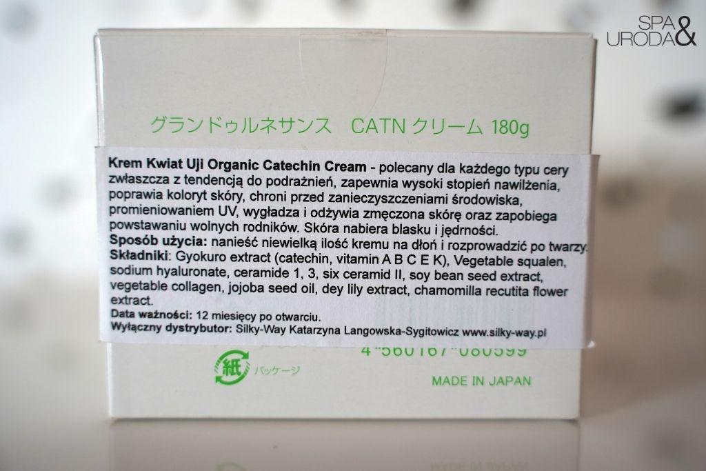 krem kwiat uji catechin cream