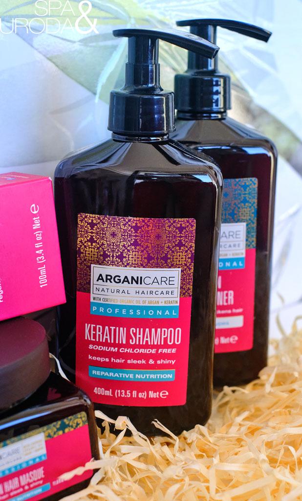 keratynowy szampon do włosów