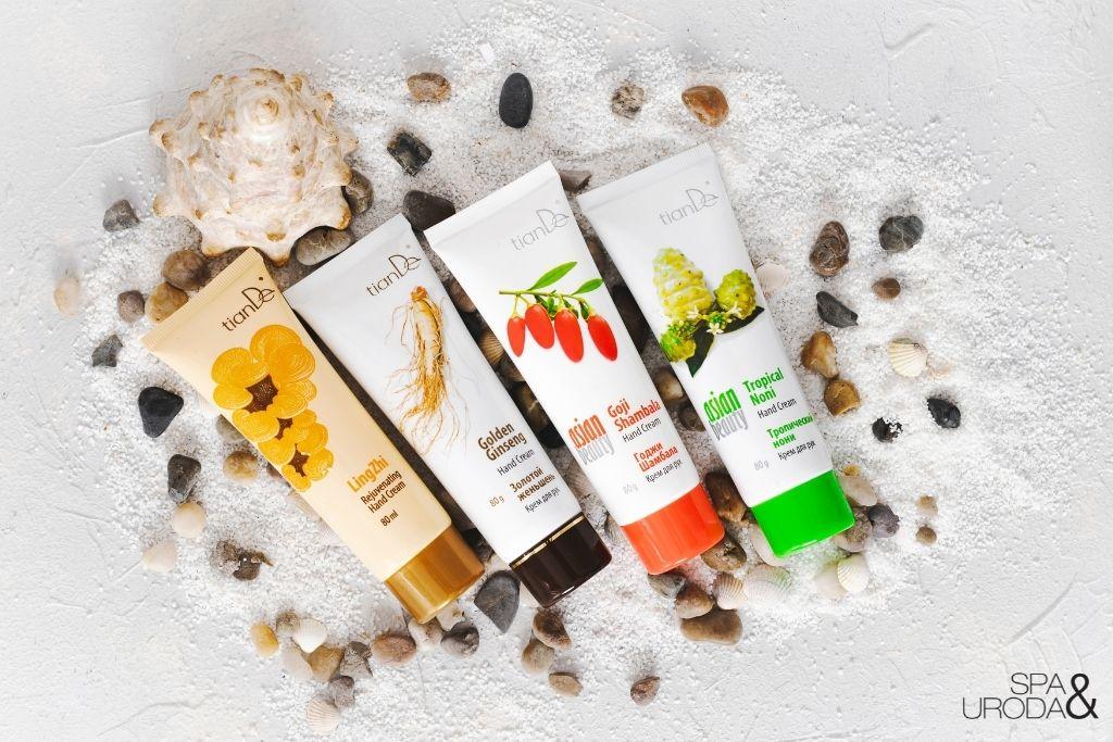 kosmetyki naturalne różne rodzaje kremów do rąk