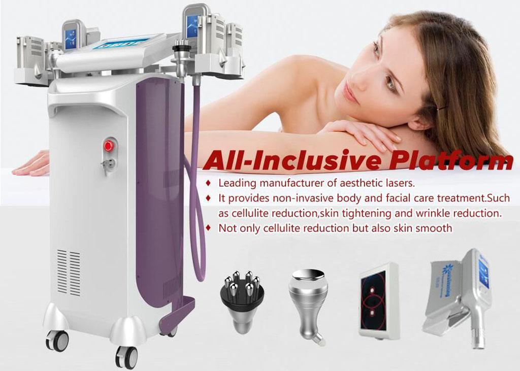 kobieta opierająca się o swoje ramię i maszyna z różnymi akcesoriami