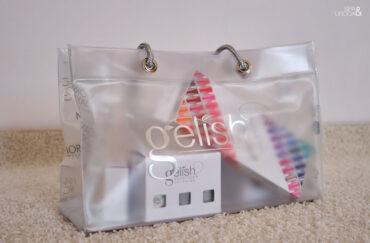 torba z produktami do manicure żelowego
