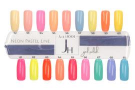 wzornik neon pastel line