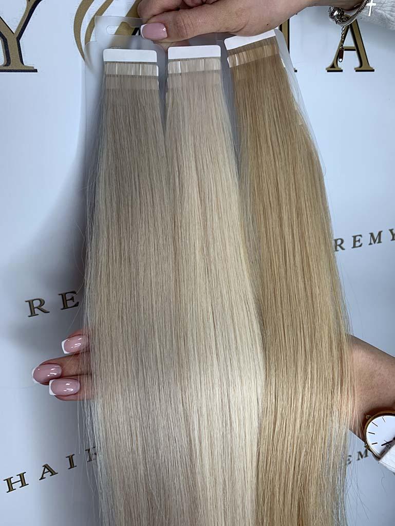 blond pasma do przedłużania włosów